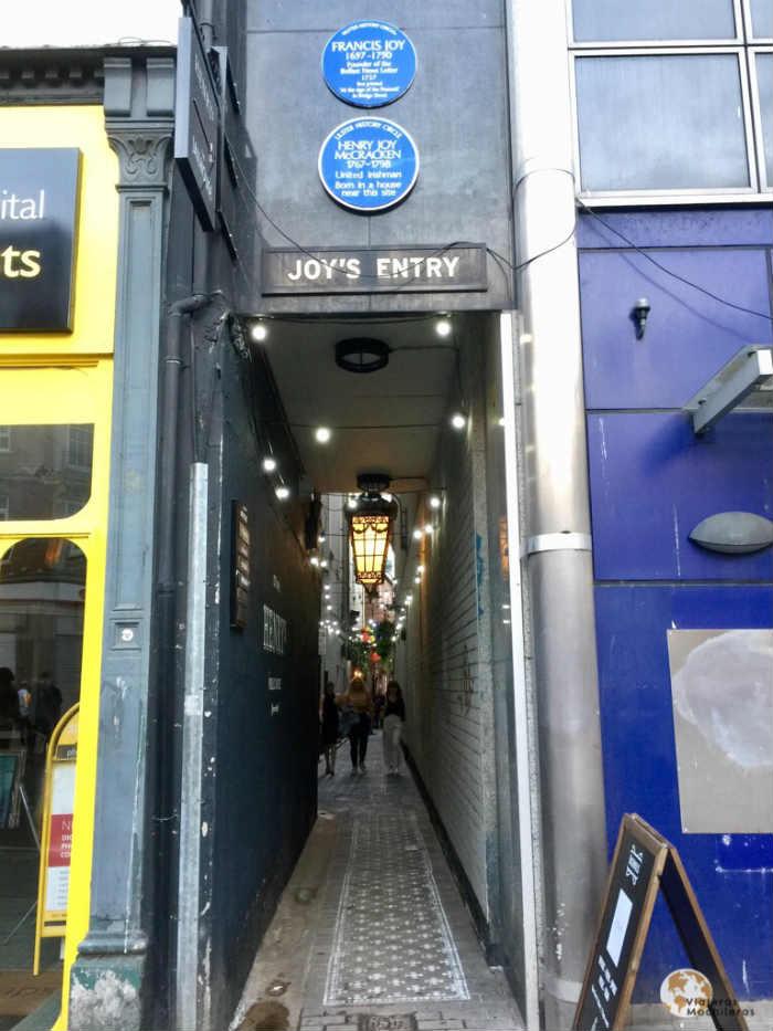 Joyas entry Belfast