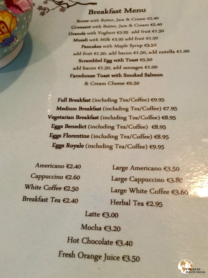 Tara´s Tea Room in Cork