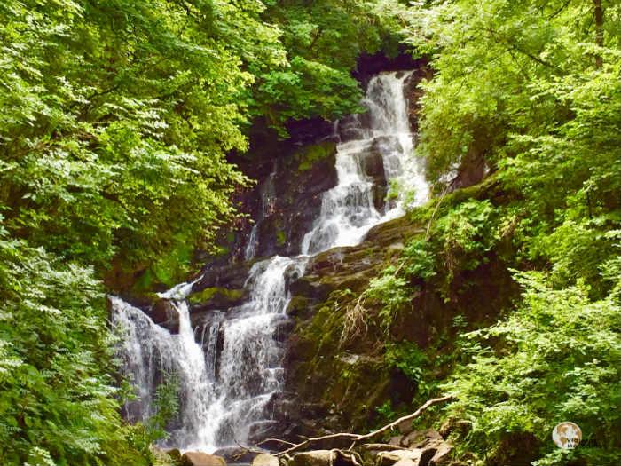 Cascada del Parque Nacional de Killarney