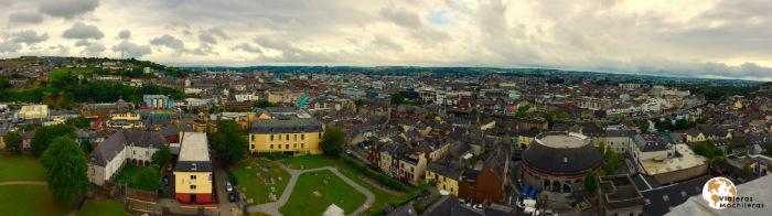 Cork desde el campanario de Shandon