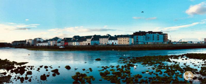 Galway, el atardecer