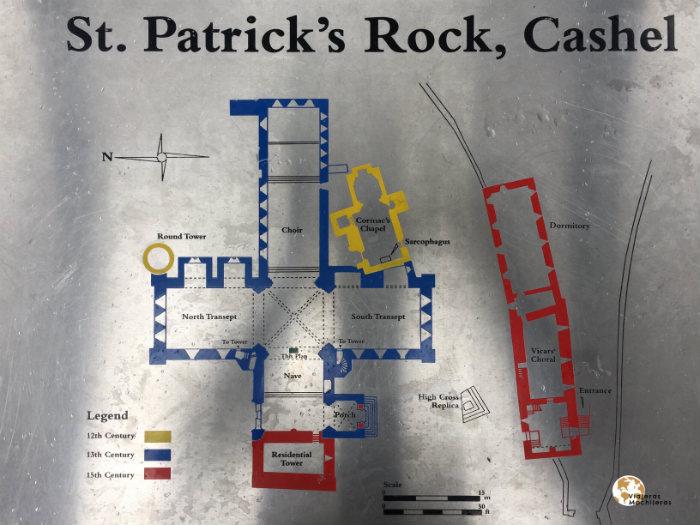 Plano St. Patrick, Rock of Cashel