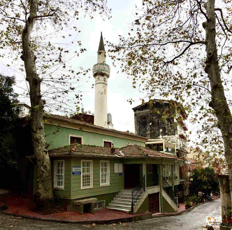 casa otomana en Beyoglu bohemio