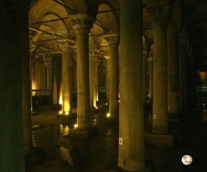 Cisterna basílica en Sultanahmet