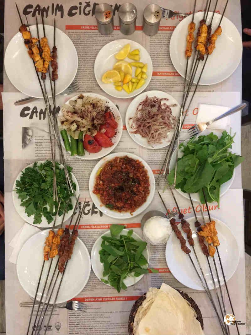 comida turka, beyoglu bohemio