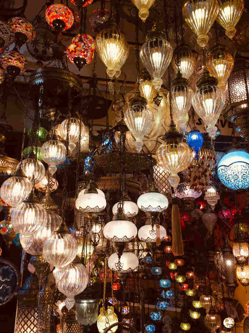 tiendas de lamparas del gran bazar