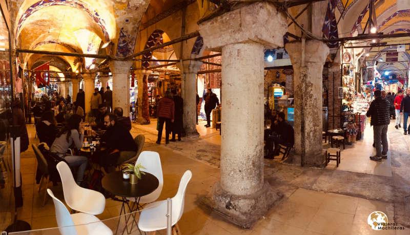 gran bazar en Sultanahmet