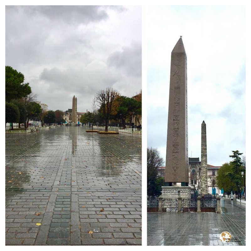 Obeliscos en Sultanahmet
