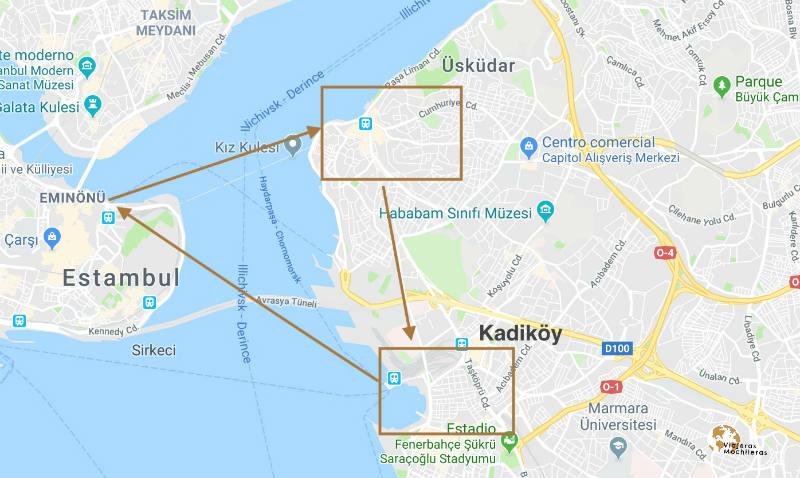 la parte asiática de Estambul