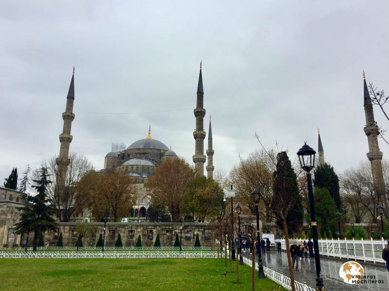 mezquita azul en Sultanahmet