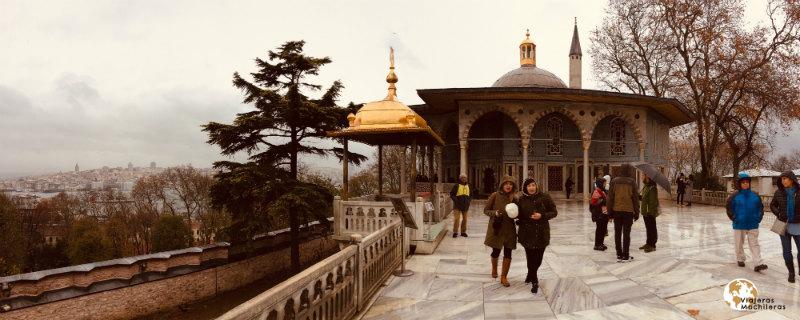 palacio topkapi en Sultanahmet
