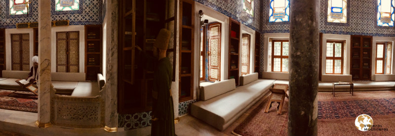 biblioteca en palacio de Topkapi, Sultanahmet