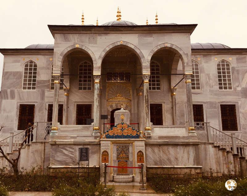 librería, palacio de Topkapi en Sultanahmet