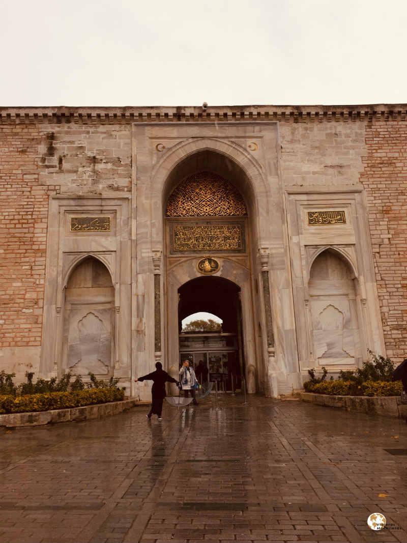 palacio de topkapi en Sultanahmet