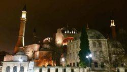 Santa Sofia de noche, Estambul