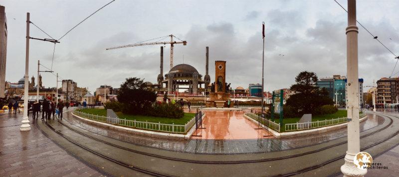 Taksim Beyoglu bohemio