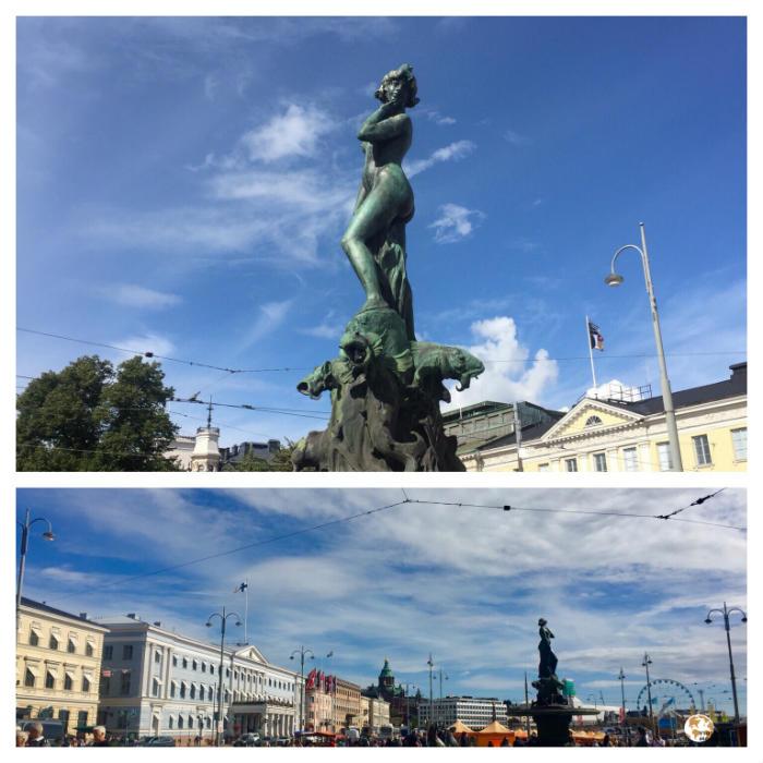 Havis Amanda, Helsinki