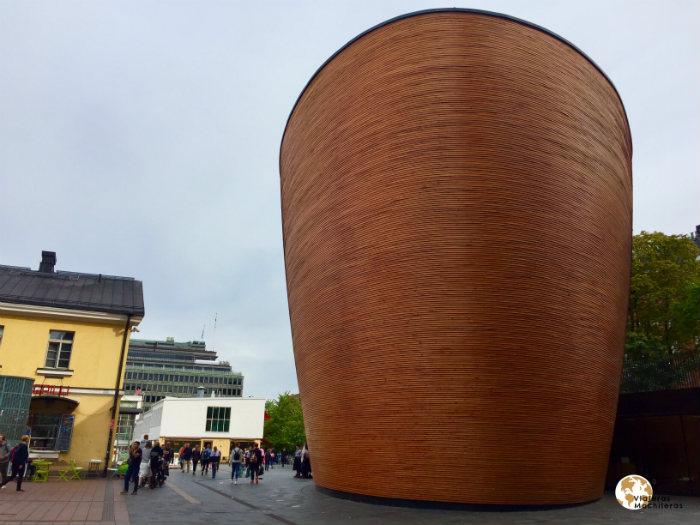 Iglesia del silencio en Helsinki