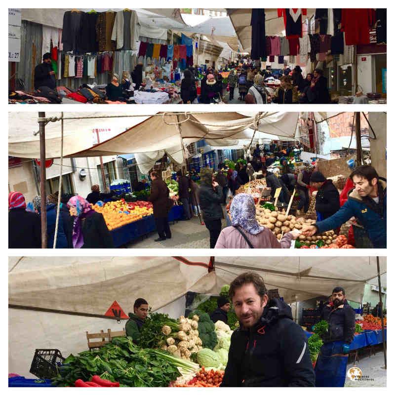 Mercado callejero en üsküdar