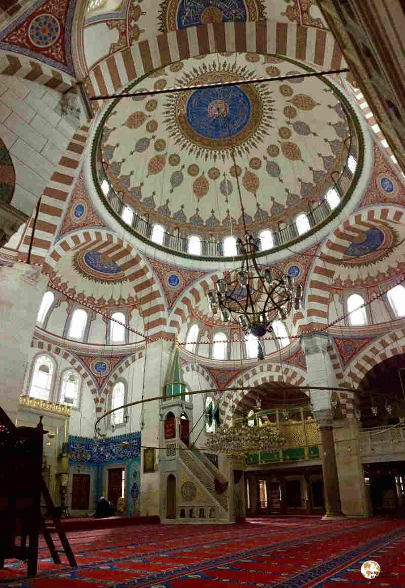 Mezquita de Atik Valide por dentro