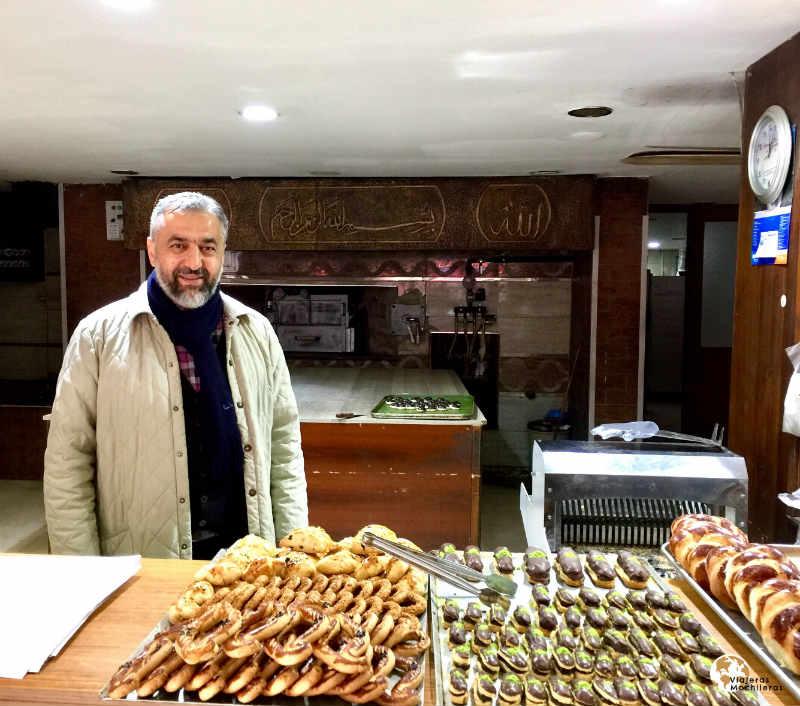 la zona asiática de Estambul y sus artesanos