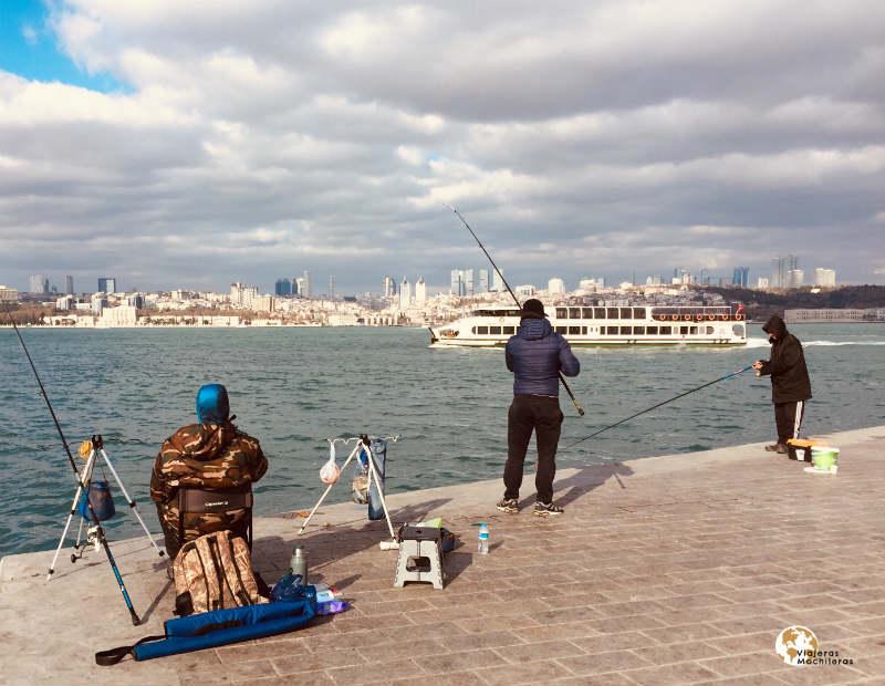 pescadores del bósforo