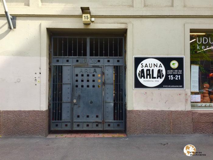 Sauna más antigua, Helsinki