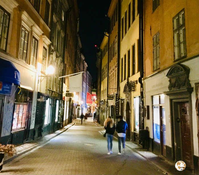Estocolmo de noche