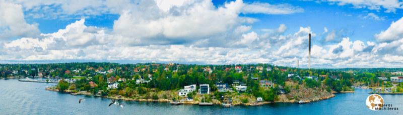 Estocolmo desde el barco