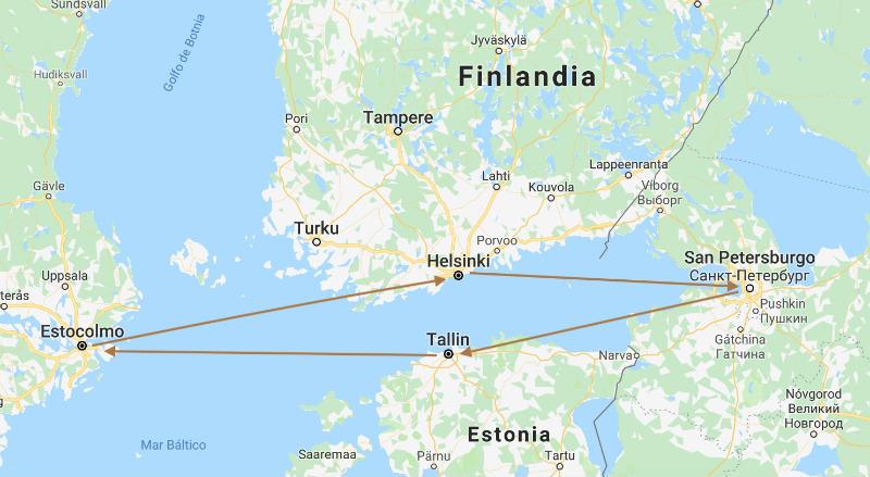 Crucero por el Báltico en 7 días