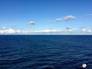 todo un día navegando por el mar báltico